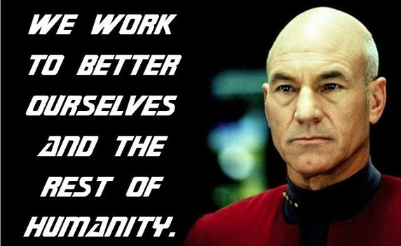better humanity startrek